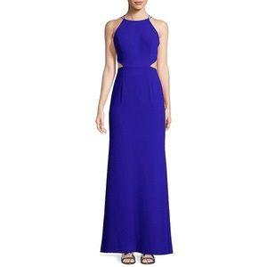 Aidan Mattox blue prom dress